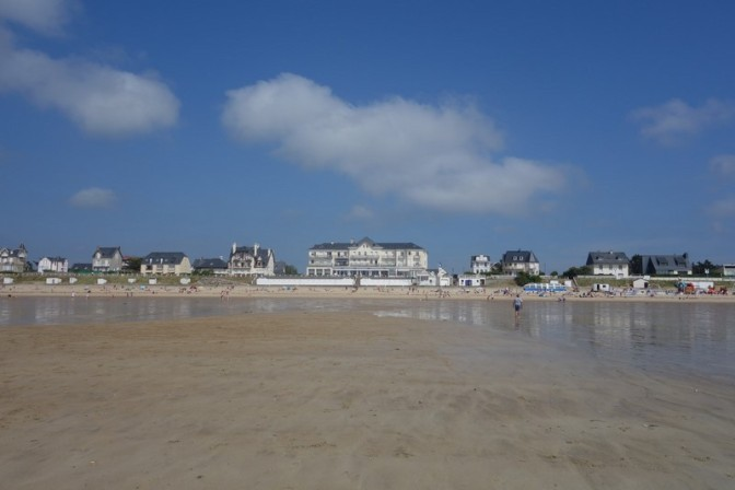 Balade à marée basse #jullouville