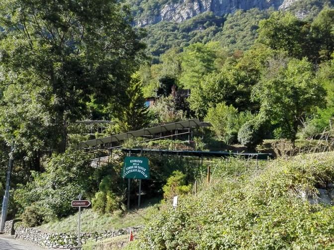 Visite de l'écomusée de la combe de Savoie