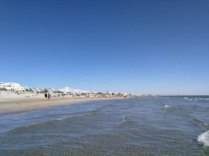 Un peu de plage et de mer pour se remonter