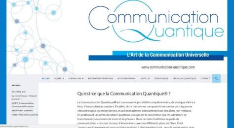 site communication-quantique