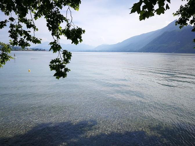 Se baigner dans un petit coin de paradis #LacDuBourget