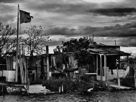 Cabane aux quatre-canaux à Palavas-les-flots