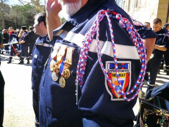 Jour de distinction pour nos sapeurs pompiers #sdis34