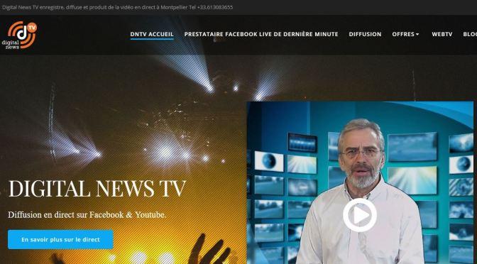 Lancement du site DIGITAL NEWS TV #Montpellier