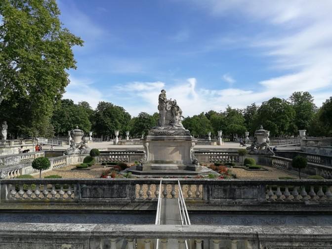 En attendant le concert, visite des jardins de la Fontaine