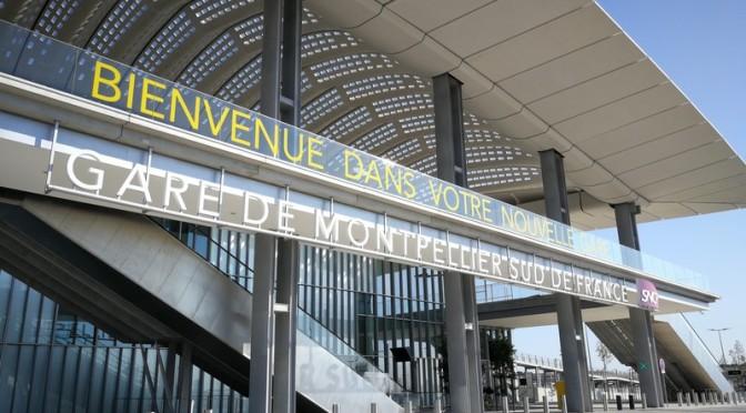 Oh tiens, v'là une gare toute neuve ! #MontpellierSuddeFrance