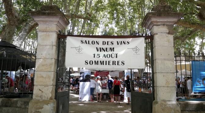 Le salon Vinum à Sommières, oups ça faisait un bail !