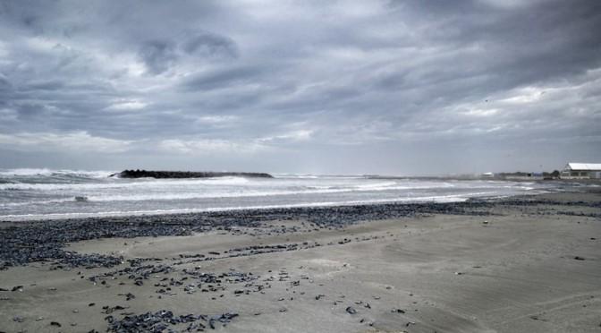 La mer gronde, les paillotes tremblent #Sète