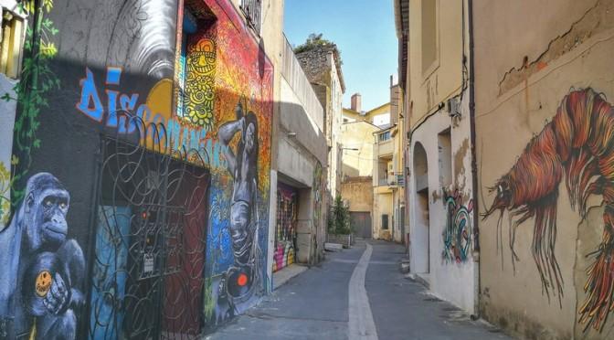 Rue de Tunis à Sète