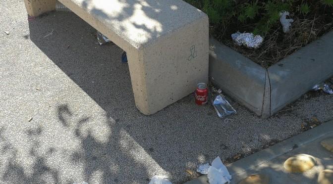 C'est la rentrée, retour des lycéens… des déchets aussi !